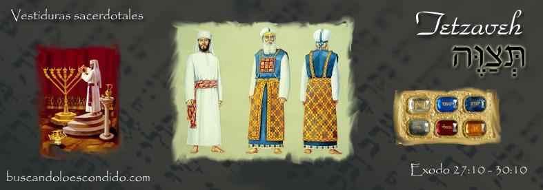 20. Tetzaveh   Exodo 27-20 a 30-10  Maravillas Escondidas en la Torah (1/6)