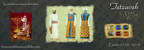 20 Tetzaveh   Exodo 27-20 a 30-10