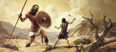 Fe David y Goliat
