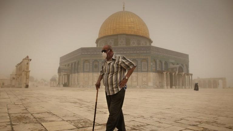 Tormenta de arena en Israel, Líbano, Siria y Jordania ** Noticias con toque profético ** (2/6)