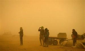 También Gaza ha sido afectada por la tormenta.