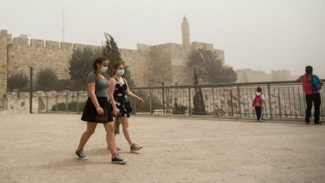 Tormenta de arena en Israel, Líbano, Siria y Jordania ** Noticias con toque profético ** (6/6)