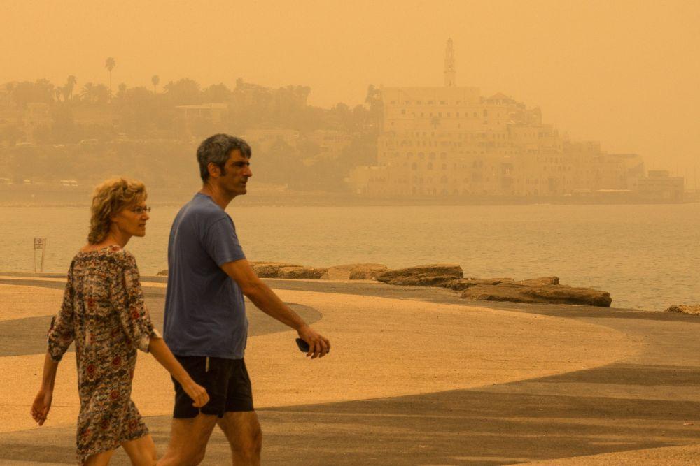Tormenta de arena en Israel, Líbano, Siria y Jordania ** Noticias con toque profético ** (5/6)