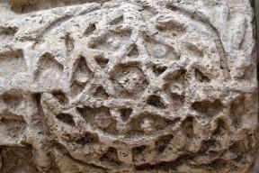 Capharnaum synagogue ruins