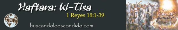 21. Haftara Ki Tisa  1 Reyes 18-1 a 39