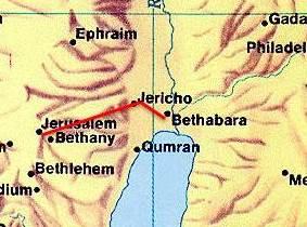 distancia de Jericó