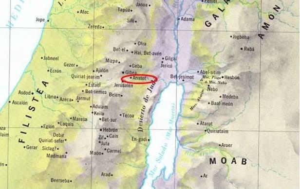 Anatot Mapa