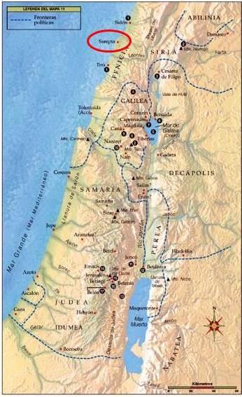 sarepta de Sidon