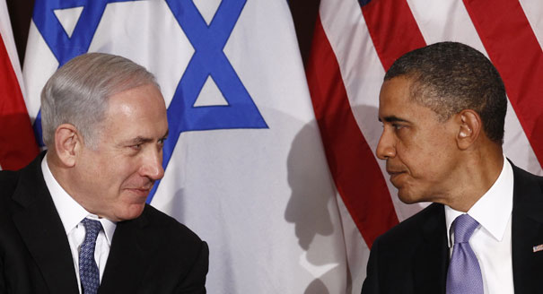 obama vs netanyahu