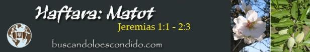 42. Matot  Jeremias 1-1 a 2-3  Profetas_Los Libros Sellados