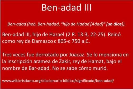 Ben Adad III