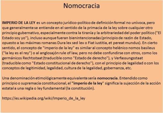 nomocracia