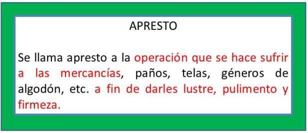 APRESTO