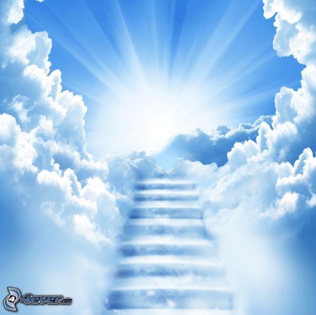 escalera-al-cielo-sol-nubes-237198