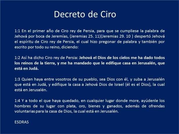 Decreto Ciro