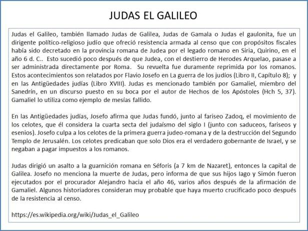 judas el galileo