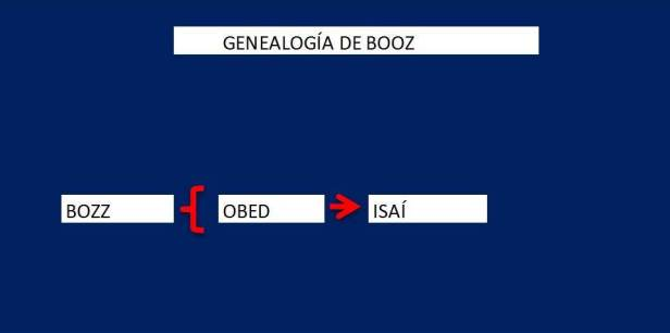 Genealogia de BOOZ