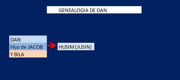GENEALOGIA DE DAN