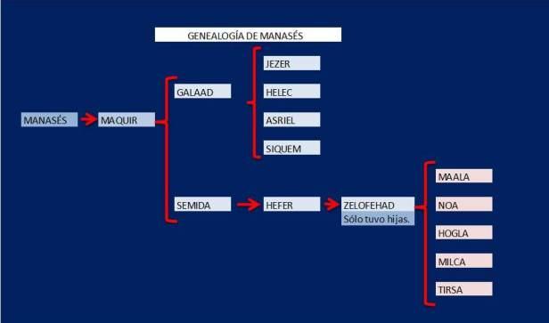 GENEALOGIA DE MANASES