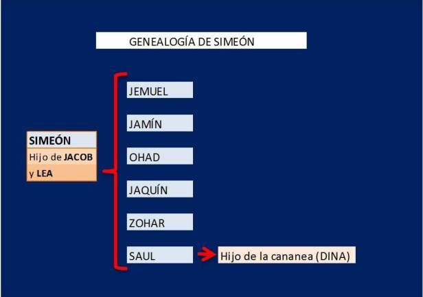 genealogia de Simeon